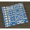 Синее ( Уют ) 5772ВЖК 215х150 100% х/б Байковое жак Ермолино одеяло