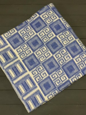 Синее Элегант 5772ВЖ 215х150 75% х/б +25% вискоза Ермолино одеяло