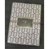 Светло-серый Геометрия 5772ВЖК Премиум 212х150 100% х/б Байковое жаккард Ермолино одеяло