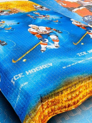 "Звезды хоккея Покрывало ""Детство"" 150х215"