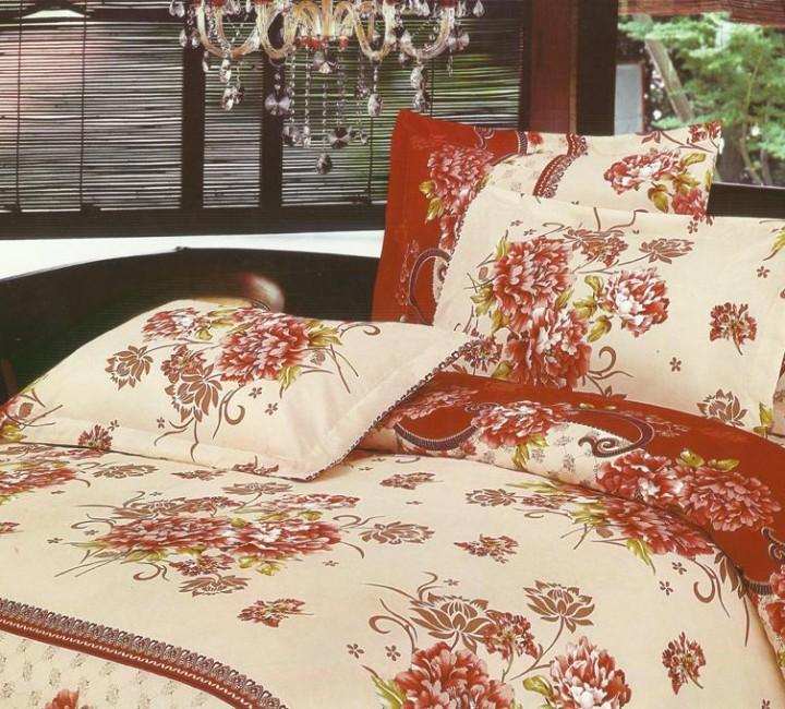 MF-05 комплект постельного белья микрофибра Valtery Семейный