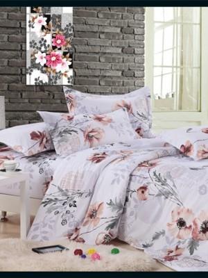 MF-39 комплект постельного белья микрофибра Valtery 1,5 спальный