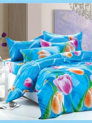 MF-40 комплект постельного белья микрофибра Valtery 1,5 спальный