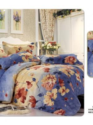 MF-42 комплект постельного белья микрофибра Valtery Семейный