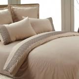 AB-SG 01 комплект постельного белья перкаль с гипюром Valtery 1,5 спальный