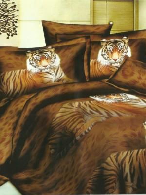 SF-03 комплект постельного белья Полисатин 3D Home Collection Семейный