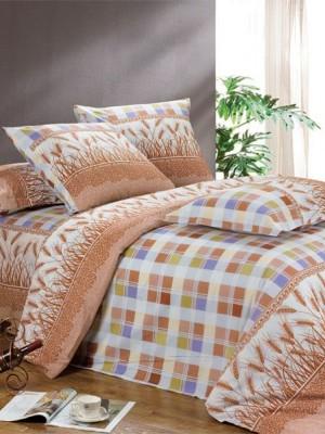 А-111 комплект постельного белья Поплин Сайлид Евро