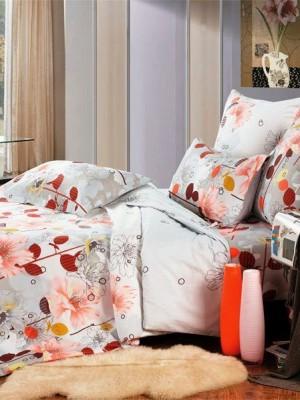 А-126 комплект постельного белья Поплин Сайлид Евро