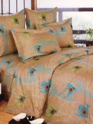 А-144 комплект постельного белья Поплин Сайлид Евро