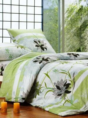 А-108-2 комплект постельного белья Поплин Сайлид Семейный