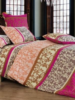 А-145 комплект постельного белья Поплин Сайлид 2 спальный