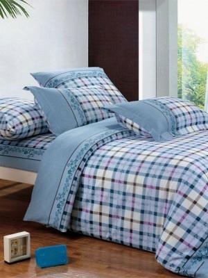 А-112 комплект постельного белья Поплин Сайлид Евро
