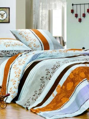 А-109 комплект постельного белья Поплин Сайлид Семейный