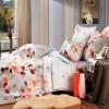 А-126 комплект постельного белья Поплин Сайлид Семейный