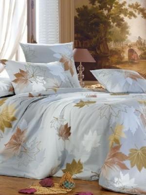 А-147 комплект постельного белья Поплин Сайлид 2 спальный