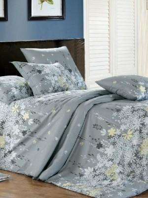 А-148 комплект постельного белья Поплин Сайлид 2 спальный