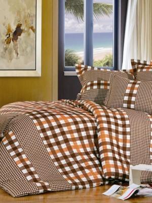 А-154-1 комплект постельного белья Поплин Сайлид Евро