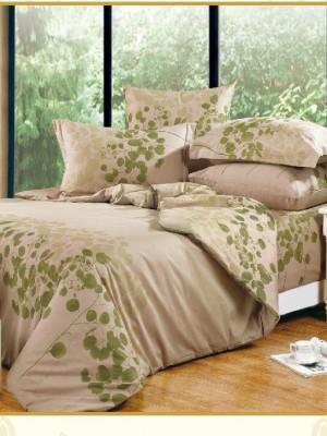 А-119 комплект постельного белья Поплин Сайлид Евро