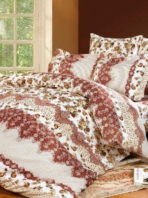 А-136 комплект постельного белья Поплин Сайлид 2 спальный