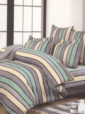 А-141 комплект постельного белья Поплин Сайлид Семейный