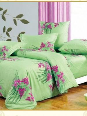 А-118 комплект постельного белья Поплин Сайлид 2 спальный