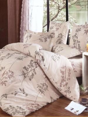 А-140 комплект постельного белья Поплин Сайлид Евро