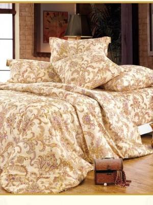 А-120 комплект постельного белья Поплин Сайлид 2 спальный