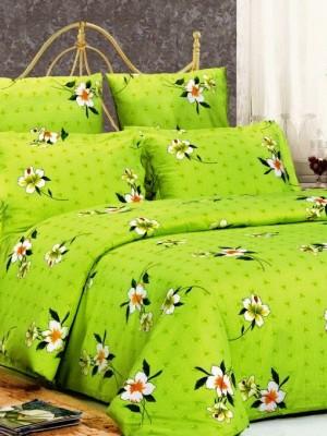 А-102 комплект постельного белья Поплин Сайлид Семейный