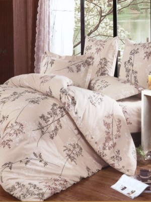 А-140 комплект постельного белья Поплин Сайлид 2 спальный