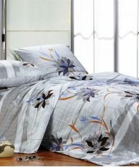 А-108-1 комплект постельного белья Поплин Сайлид Евро