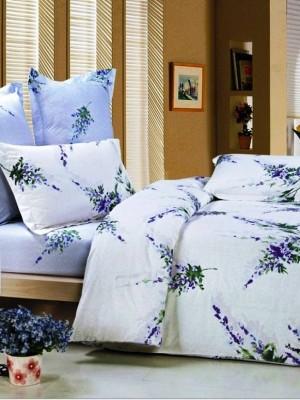В-59-1 комплект постельного белья Сатин Сайлид 1,5 спальный