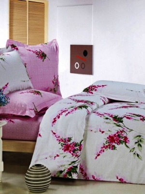 В-59-2 комплект постельного белья Сатин Сайлид 1,5 спальный