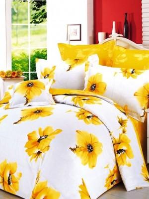 В-9 комплект постельного белья Сатин Сайлид 1,5 спальный
