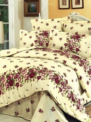 В-28 комплект постельного белья Сатин Сайлид 1,5 спальный
