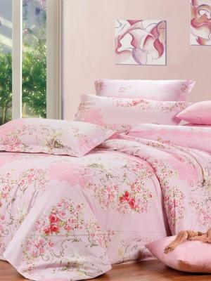 В-94-1 комплект постельного белья Сатин Сайлид 1,5 спальный