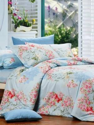 В-94-2 комплект постельного белья Сатин Сайлид 1,5 спальный