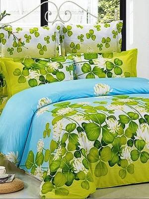 В-76 комплект постельного белья Сатин Сайлид 1,5 спальный