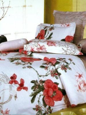 В-50 комплект постельного белья Сатин Сайлид 1,5 спальный