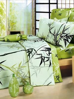 В-53 комплект постельного белья Сатин Сайлид 1,5 спальный