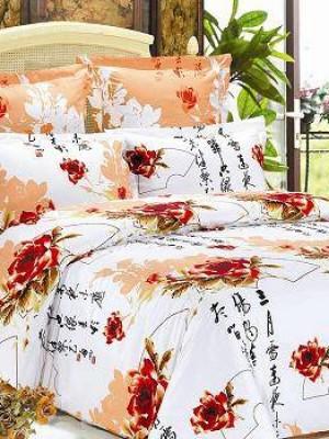 В-78 комплект постельного белья Сатин Сайлид 1,5 спальный