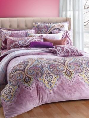 С-154 комплект постельного белья Сатин Valtery 1,5 спальный