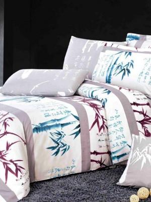 С-119 комплект постельного белья Сатин Valtery 2х спальный
