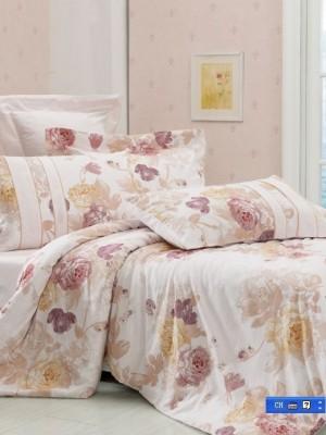 С-62 комплект постельного белья Сатин Valtery 1,5 спальный