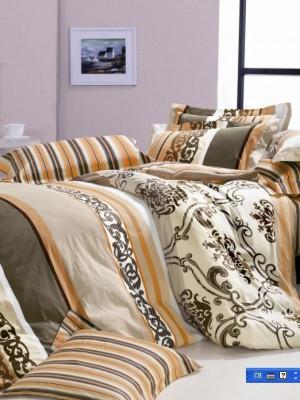 С-78 комплект постельного белья Сатин Valtery 1,5 спальный