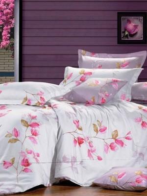 С-120 комплект постельного белья Сатин Valtery 2х спальный