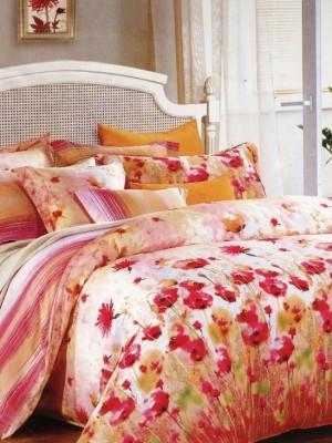 С-140 комплект постельного белья Сатин Valtery 1,5 спальный