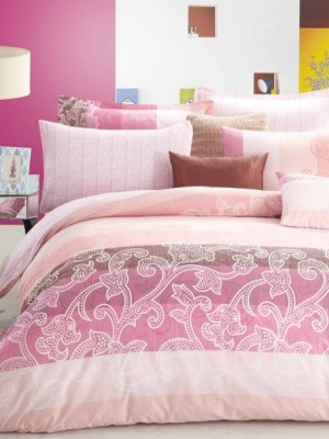 С-156 комплект постельного белья Сатин Valtery 1,5 спальный