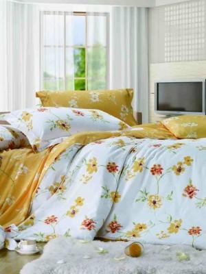 С-142 комплект постельного белья Сатин Valtery 2х спальный