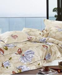 С-124 комплект постельного белья Сатин Valtery 1,5 спальный