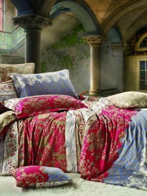 С-144 комплект постельного белья Сатин Valtery 1,5 спальный